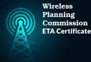 WPC ETA Certificate